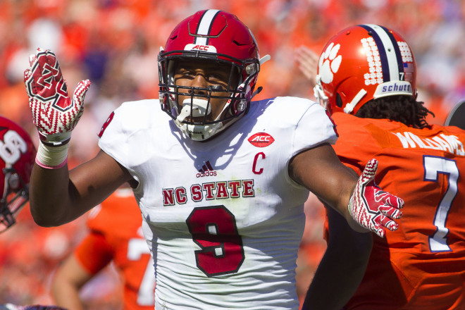 Bradley Chubb returns to anchor a NC State defensive line that may be one of the top in the county